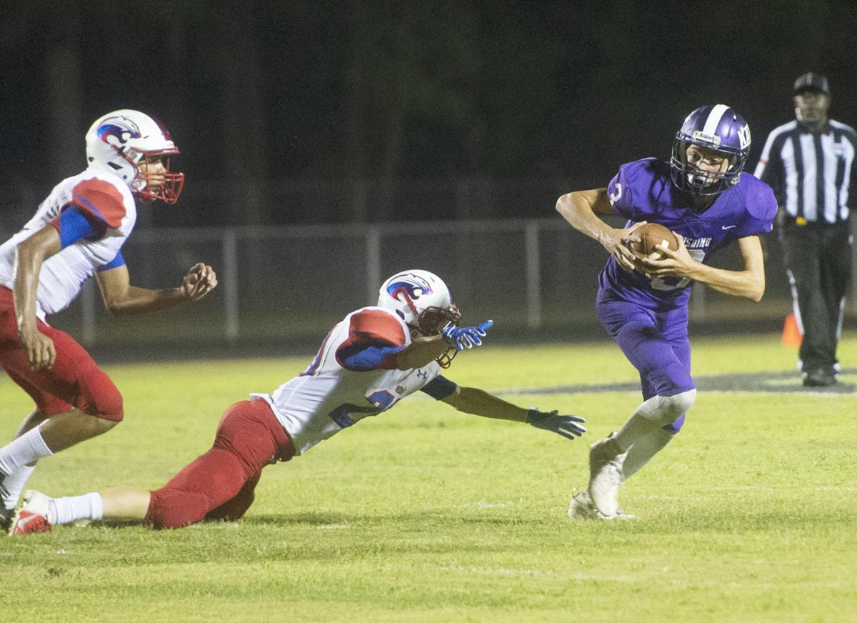 Cushing vs. Mount Enterprise, Sept. 6, 2019.