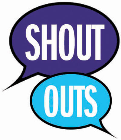 Shout Outs 0825 - The Daily Sentinel: Life & Entertainment