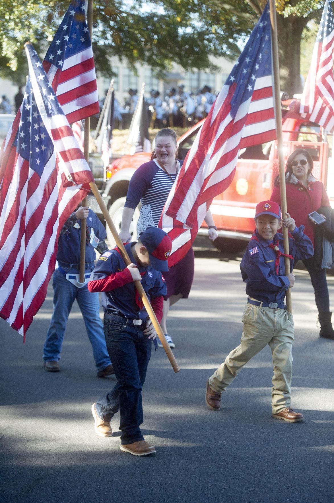 2019 Veterans Day Parade, Nov. 9, 2019.