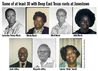 East Texans at Jonestown