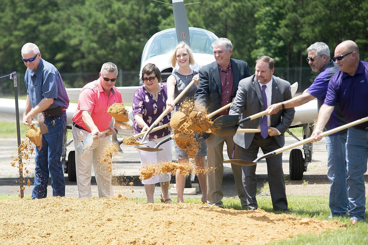 Flight School Groundbreaking, June 11, 2021