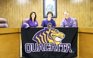 CH's Street signs with Ouachita Baptist