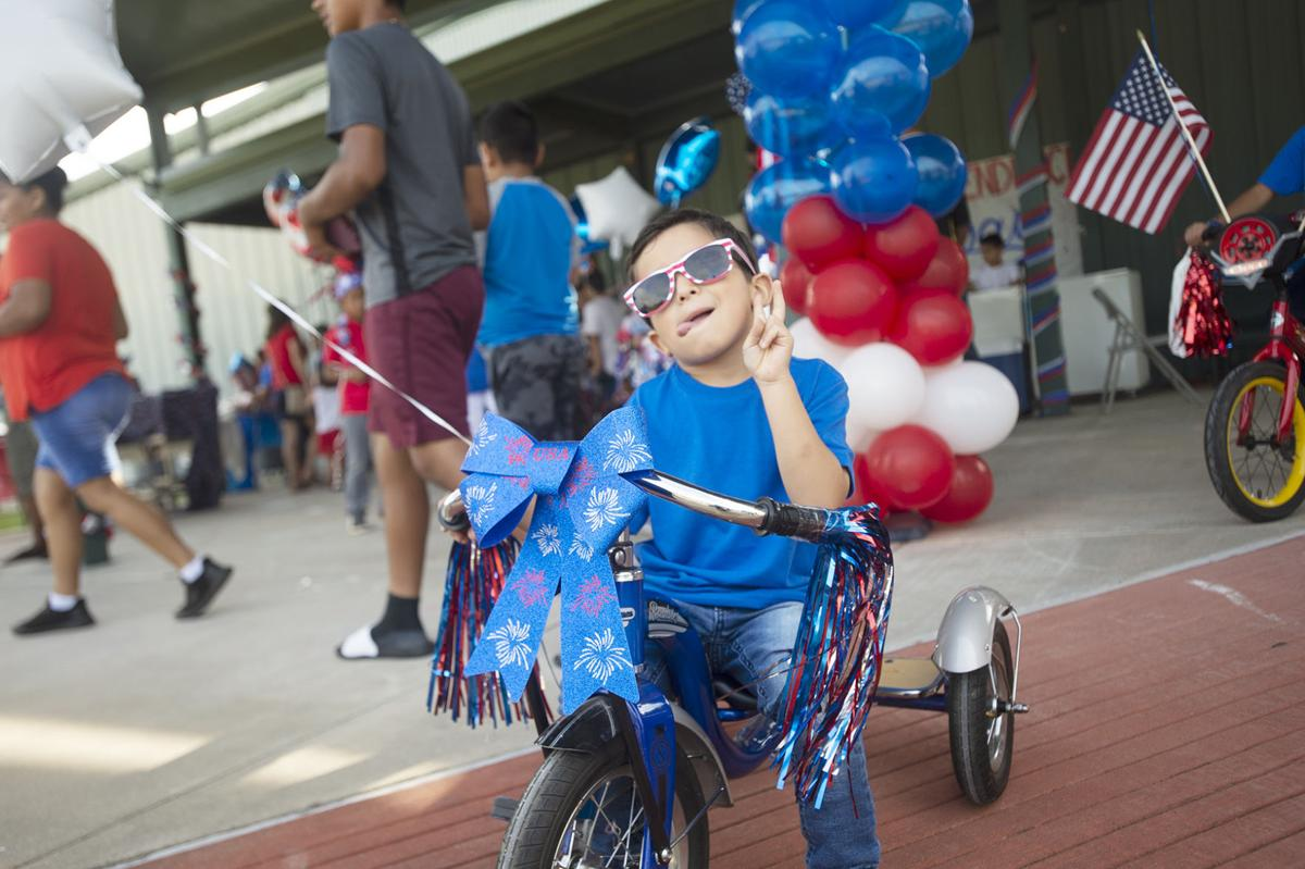 Brooks-Quinn-Jones Elementary School Independence Day Parade, July 3, 2019.