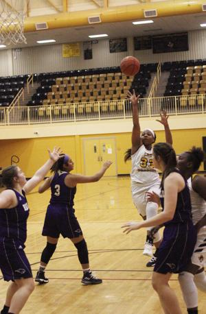 Nacogdoches girls win fifth straight game