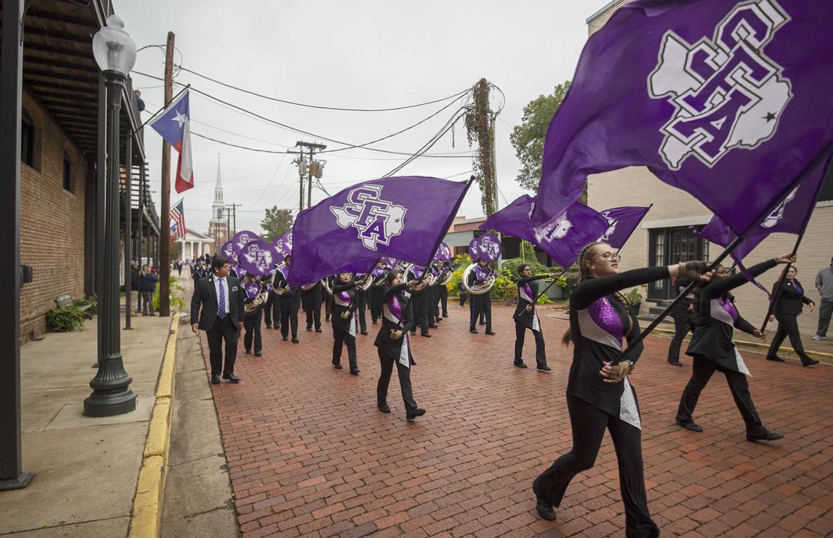 SFA Homecoming parade and Sylvan game, Oct. 26, 2019.