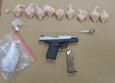 Drugs and gun