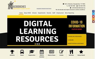 NISD website