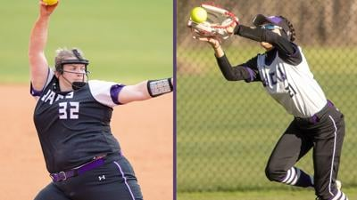 SFA Ladyjacks — Ashley Kriesel & Marisa Arriaga