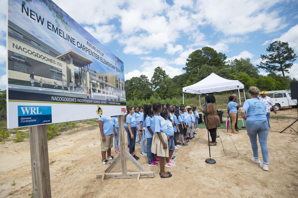 Emeline Carpenter Elementary Groundbreaking, Sept. 27, 2019