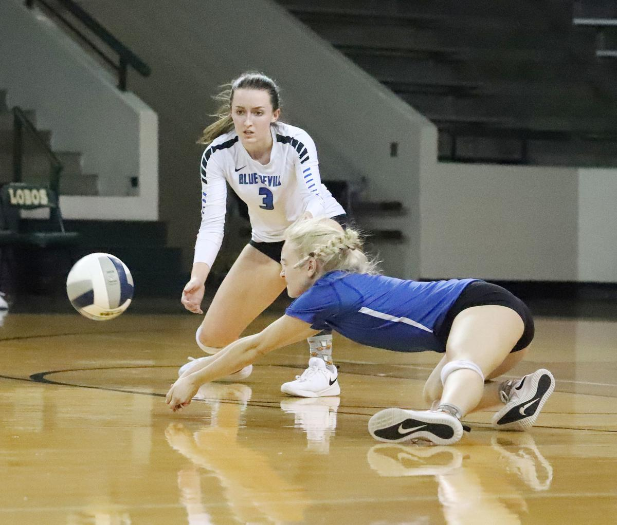 Central Heights Volleyball - Taylor Chambers