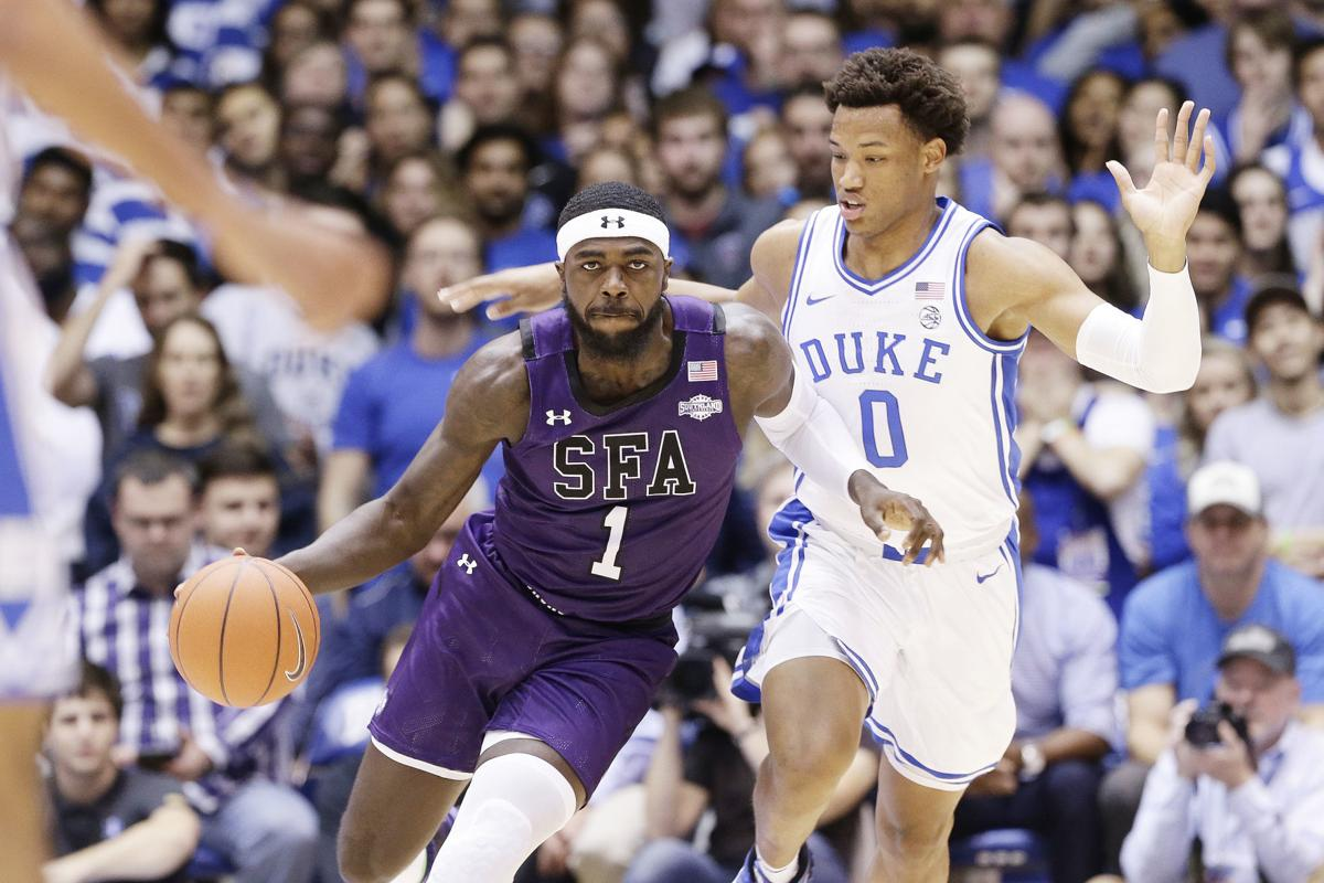 Stephen F Austin vs. Duke Basketball