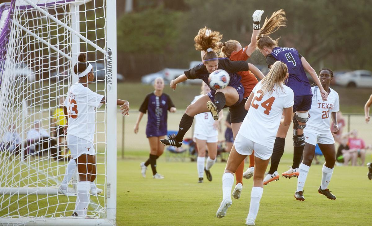 SFA women's soccer vs. UT, Sept. 6, 2019.