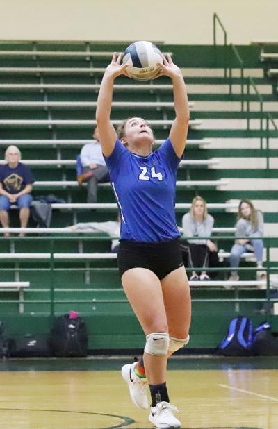 Central Heights volleyball - Emily Petty