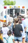 Touch a Truck at the Nacogdoches Public Library and C.L. Simon Recreation Center, Tuesday, July 17, 2018.