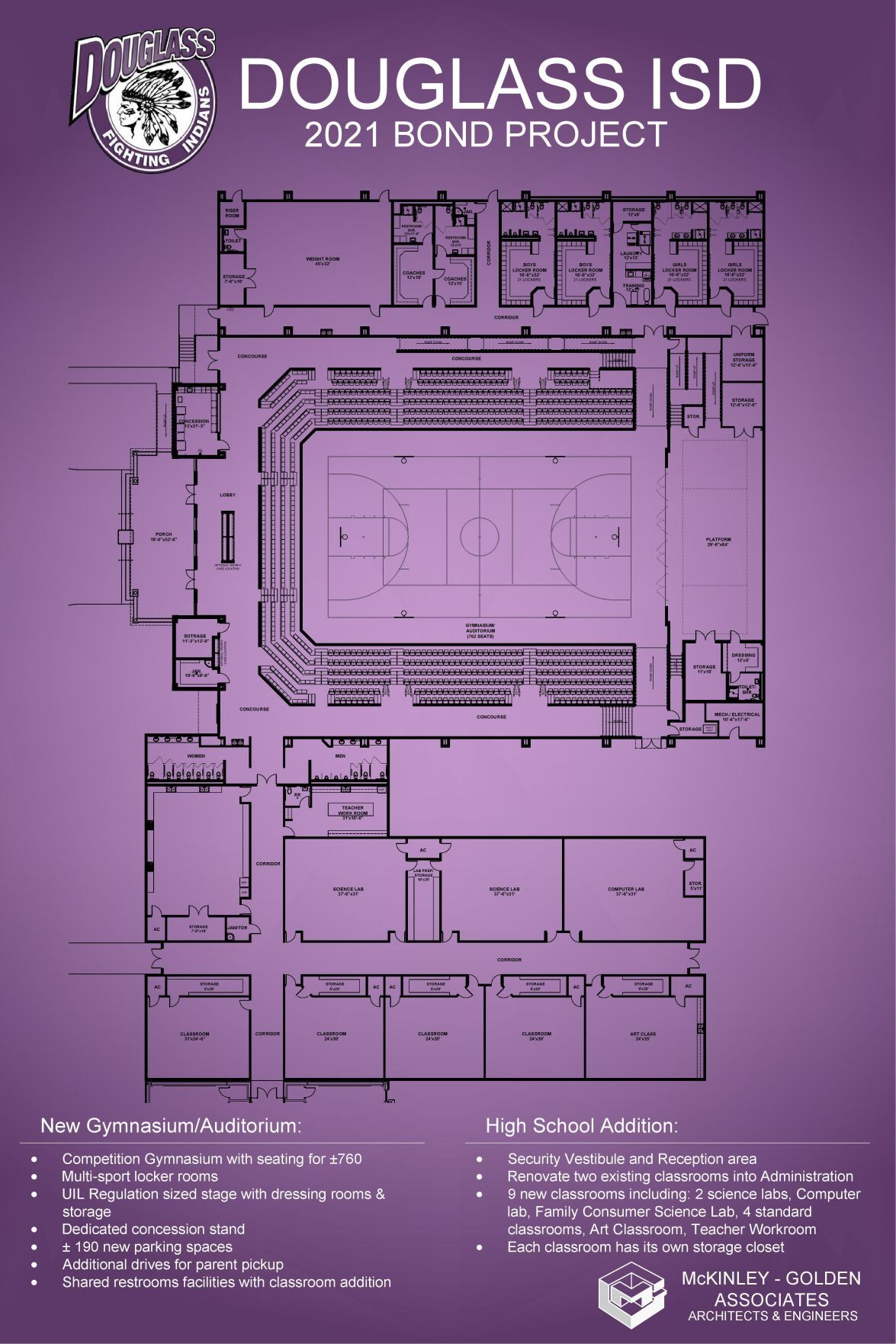 Douglass multipurpose facility