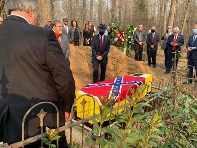 Gordon Cotton's funeral