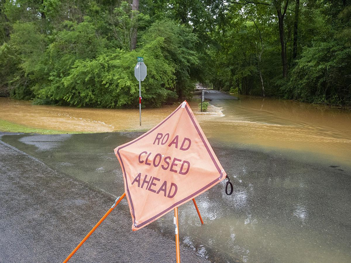 Roads flooded as more rain on the way