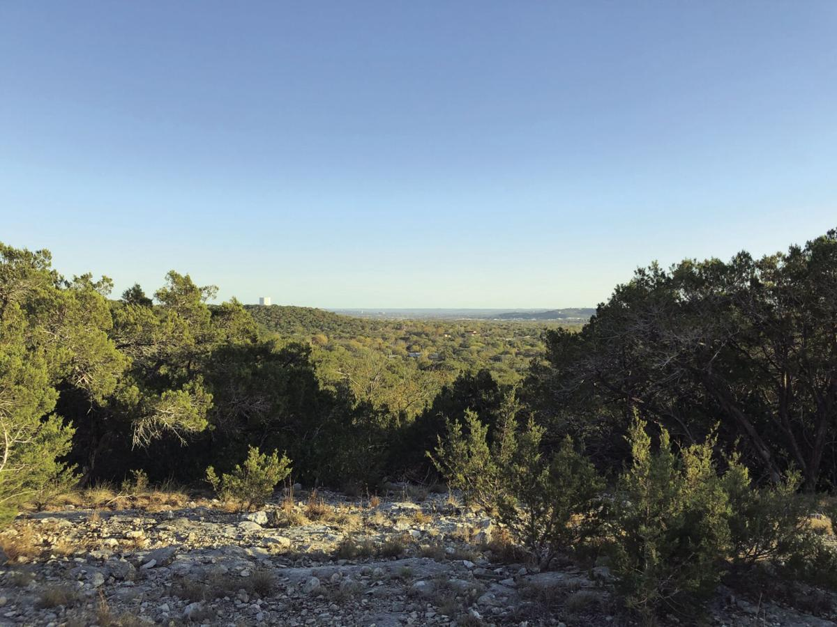 View from a hilltop