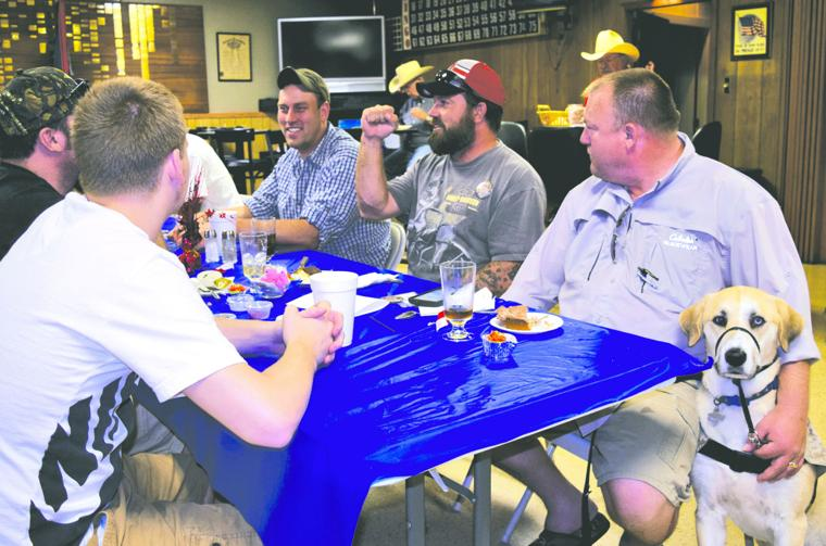 Local VFW post hosts wounded warriors