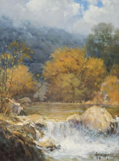 G. Harvey painting