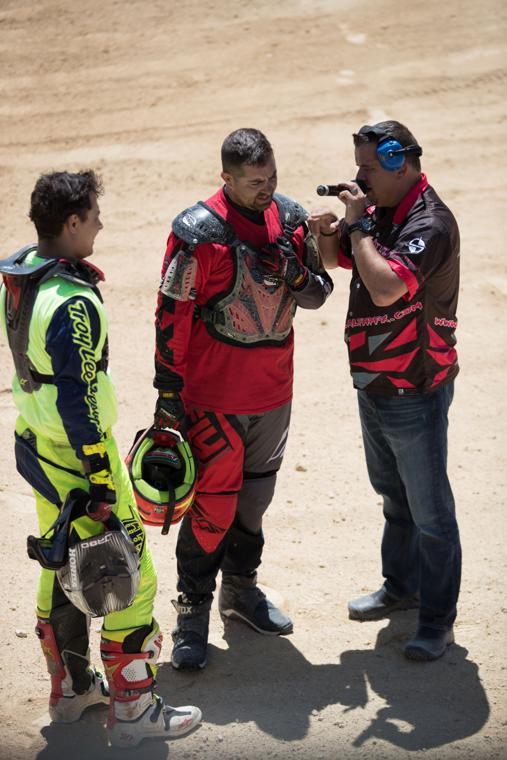 Stunt drivers talk