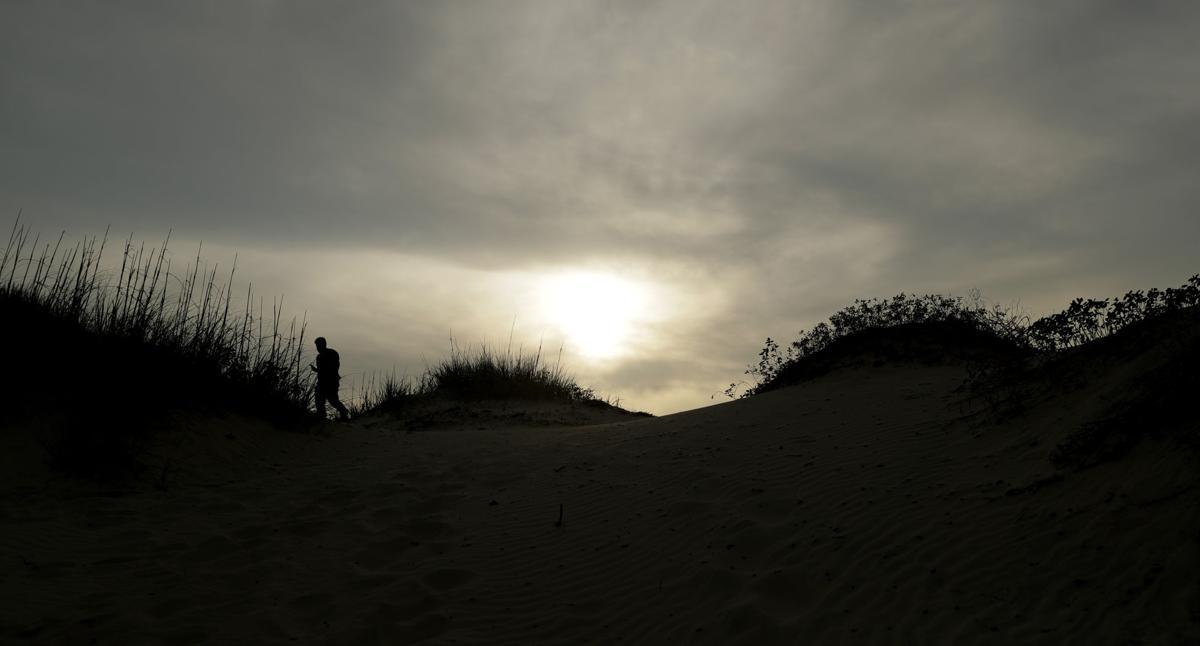 Virus Outbreak Texas Beaches