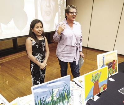 Kerrville Kind children's art show