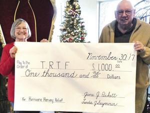 TRTF hurricane donation