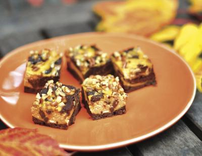 FOOD PUMPKIN-CHEESECAKE-BROWNIE MS