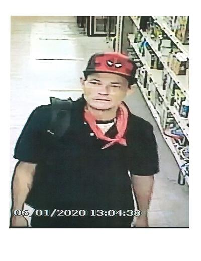 Person of interest in 6/1/20 theft