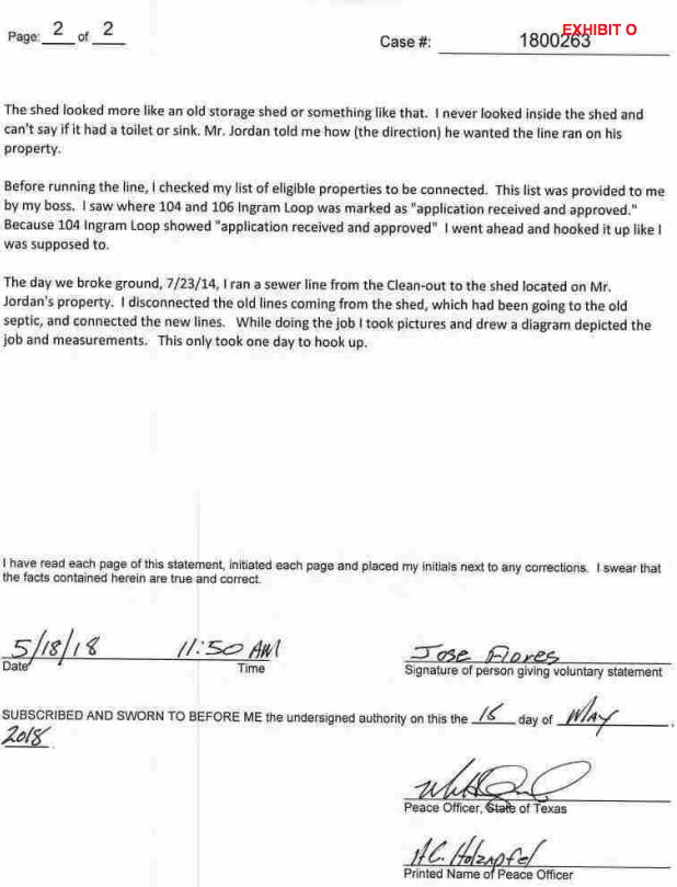 5/16/18 affidavit, page 2