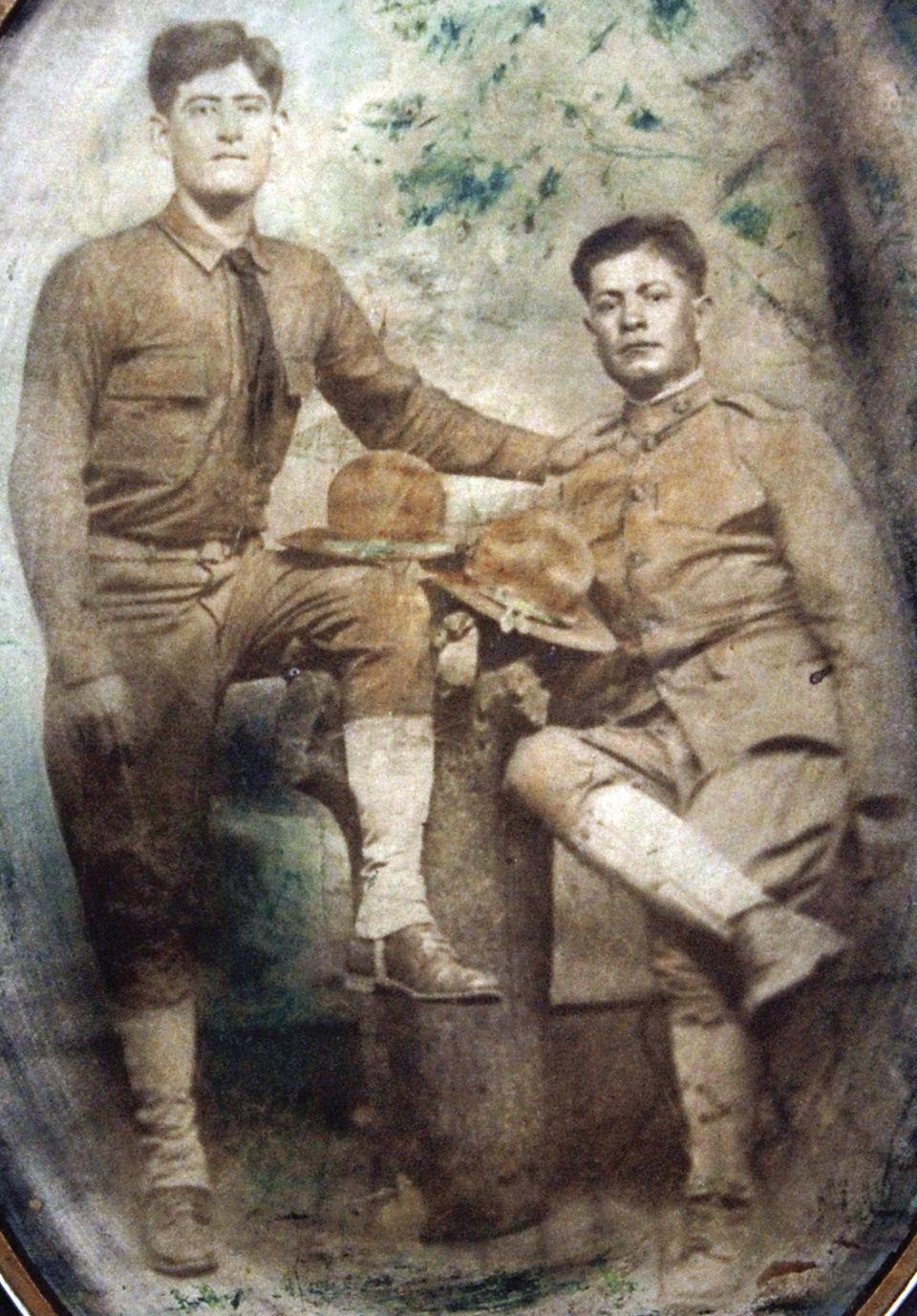 Emmett Rodriguez and Francisco Lemos 1918