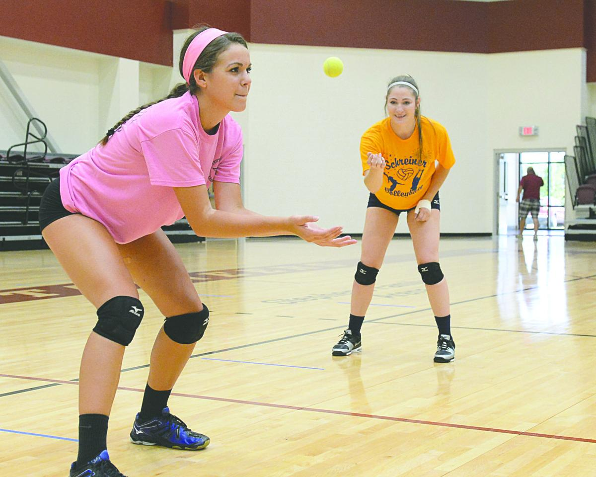 Local university's volleyball camp draws players from across the state