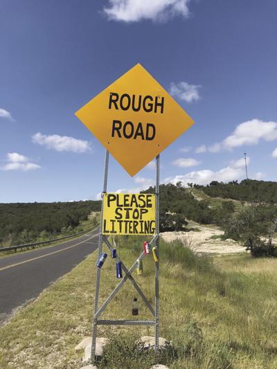 Sign on Shepherd Rees Road