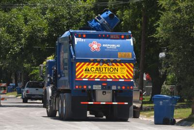 Republic Services garbage collection