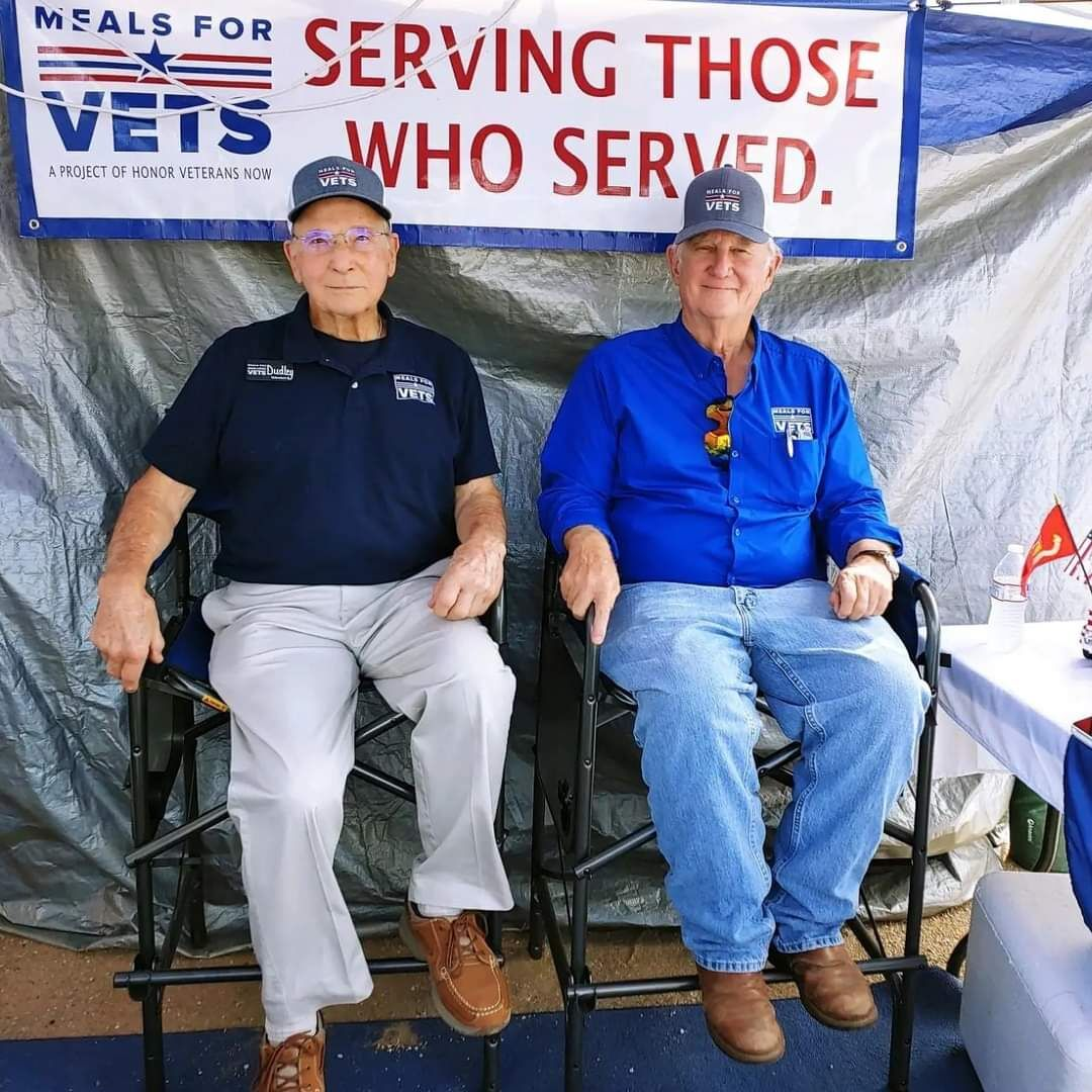Meals for Veterans serves more than 1500 hungry veterans a month in Texas