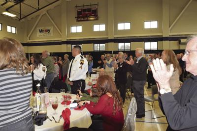Emergency personnel celebrated by Rotary