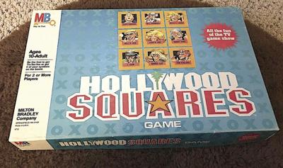 """John Moore's """"Hollywood Squares"""" boardgame"""