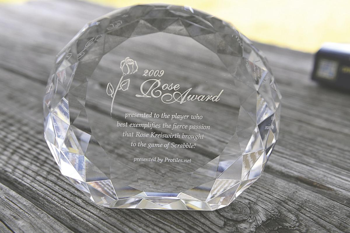 Scrabble award