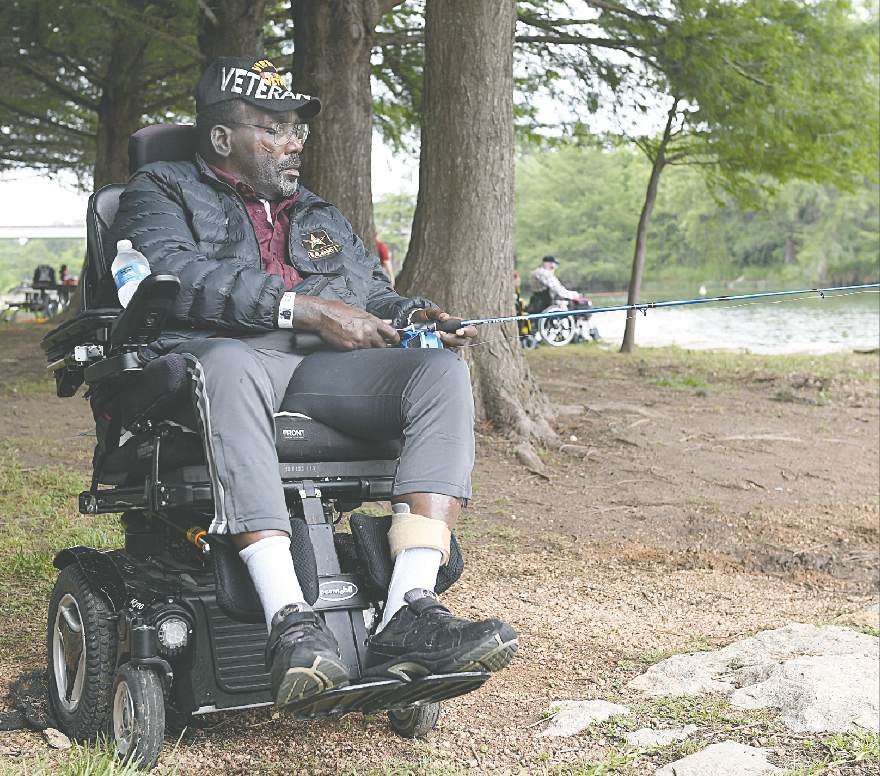 VA patients treated to day on the river