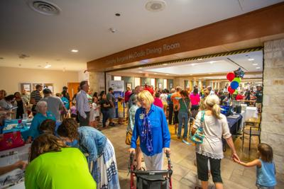 Hospital hosts block party on 35-acre campus to mark 7 decades of service