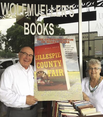 Local author sets new book in Gillespie County