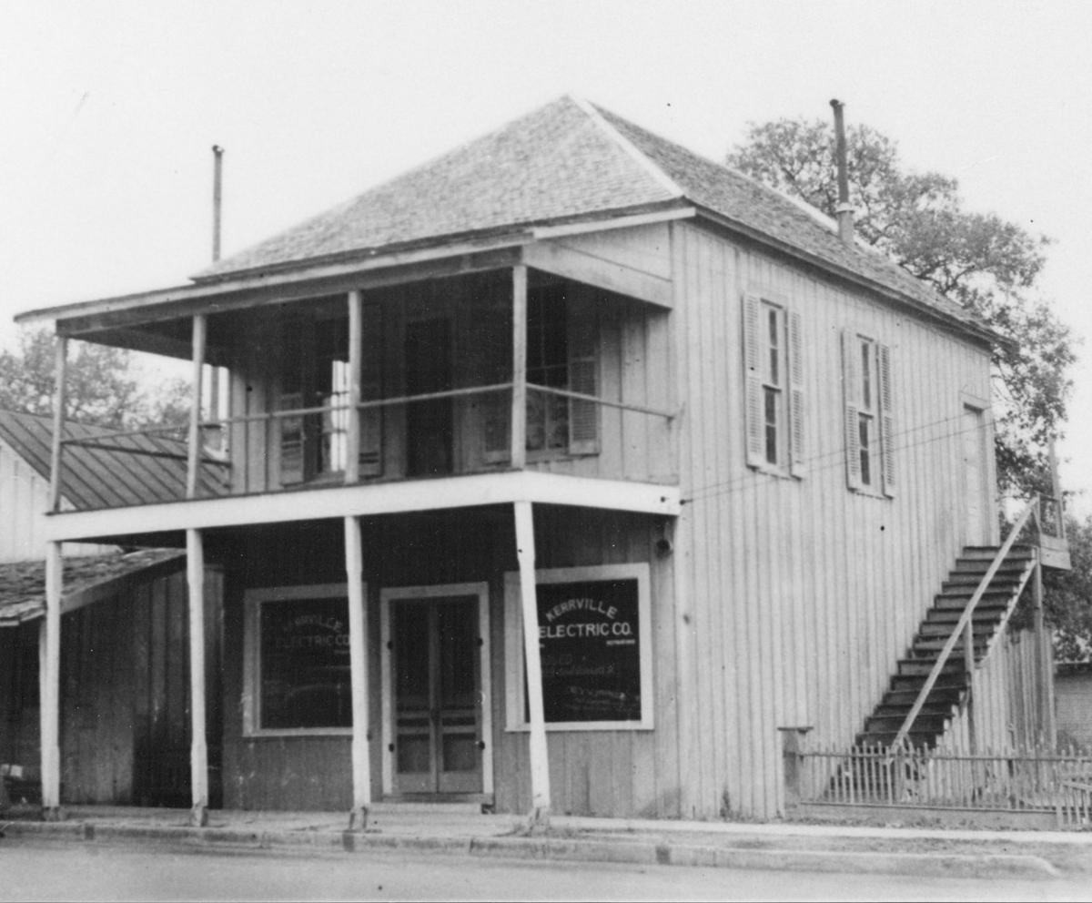 Building which housed first HEB store, Kerrville