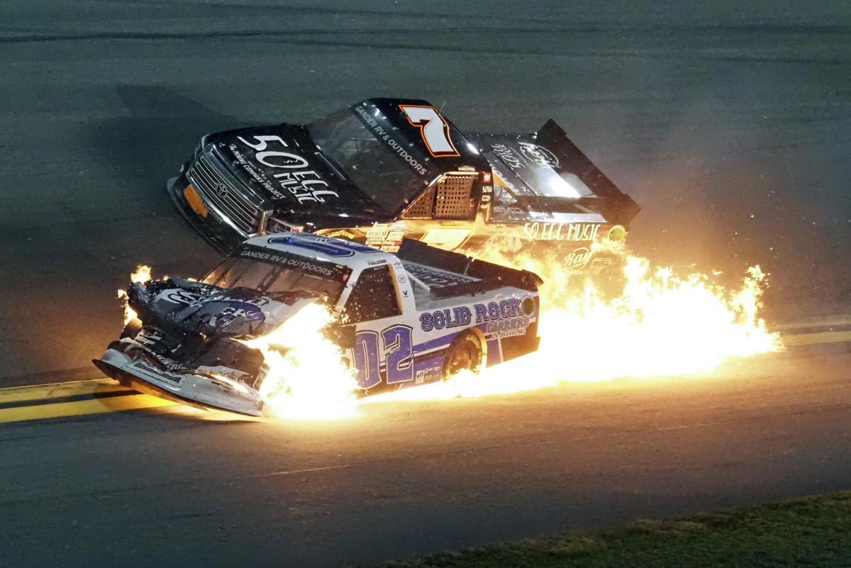 NASCAR Daytona Trucks Auto Racing