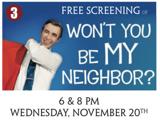 Public Invited To Free Showings Of Documentary About Fred Rogers Promotions Dailytimes Com