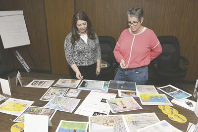 Young artists illustrate caring for upcoming show in Kerrville