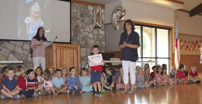 Students graduate from pre-K