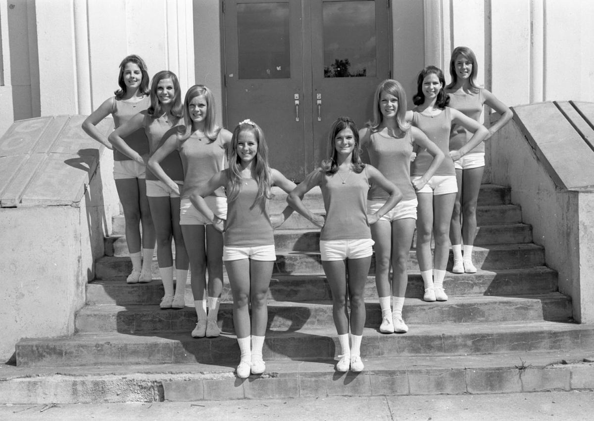 Tivy High School Cheerleaders, summer 1968
