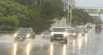 Chance of rain continues through Thursday
