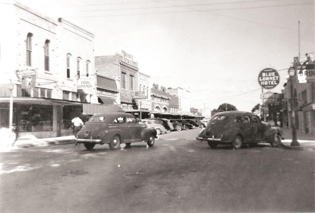 800 Block Water Street Kerrville, early 1950s